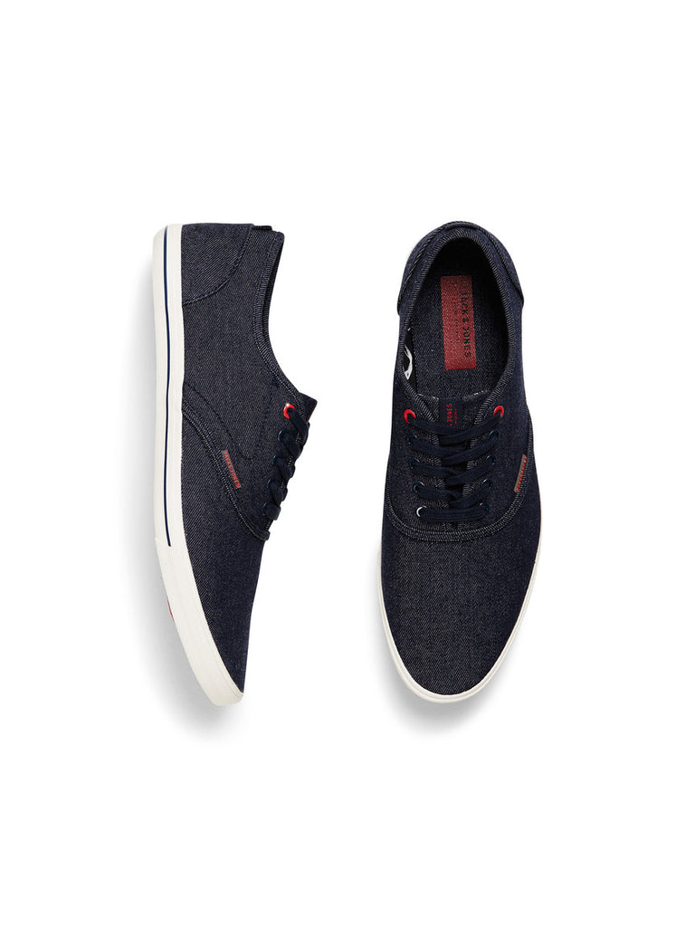Jj Spider Denim Canvas Shoes By Jack Jones