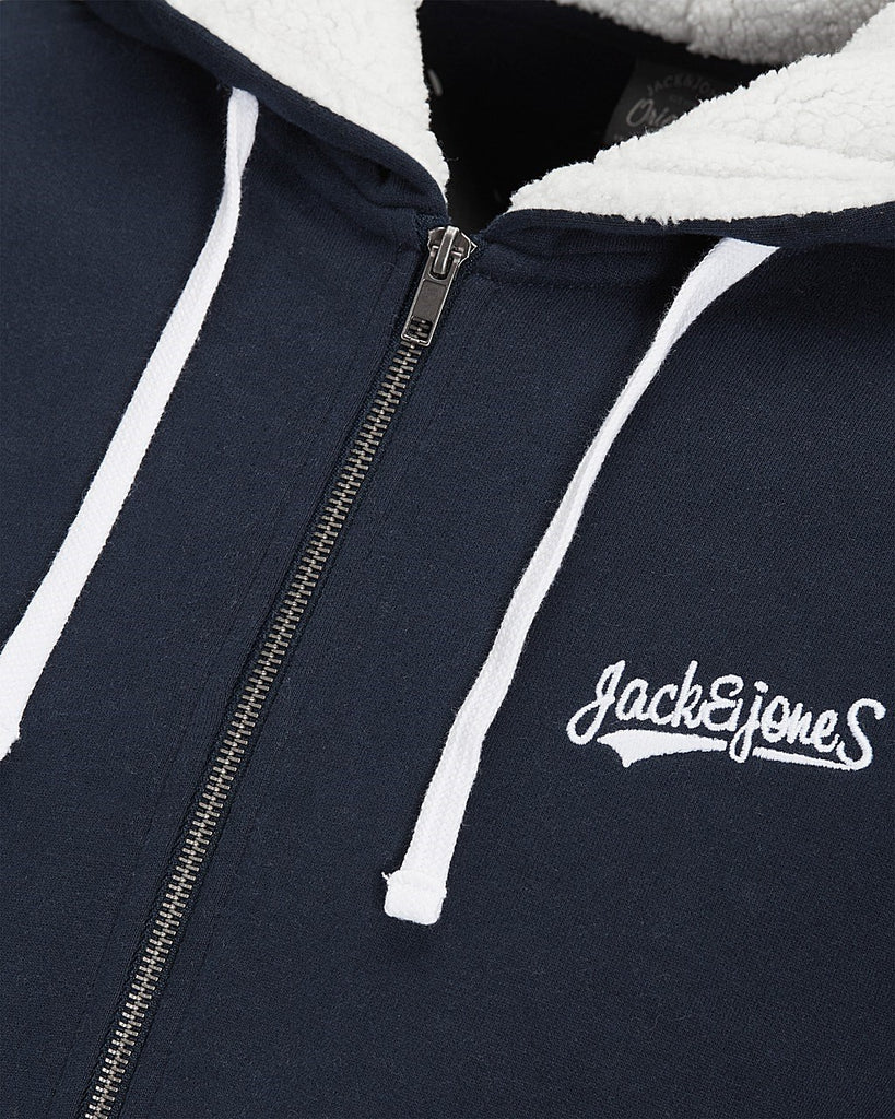 Millers Borg Sweat Zip by Jack Jones Originals