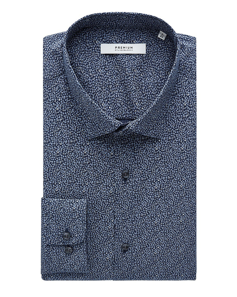 Blackpool Pattern Slim Fit Shirt By Jack Jones Premium