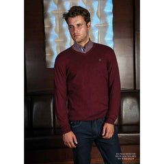 Julian V Neck Jumper By Outrage