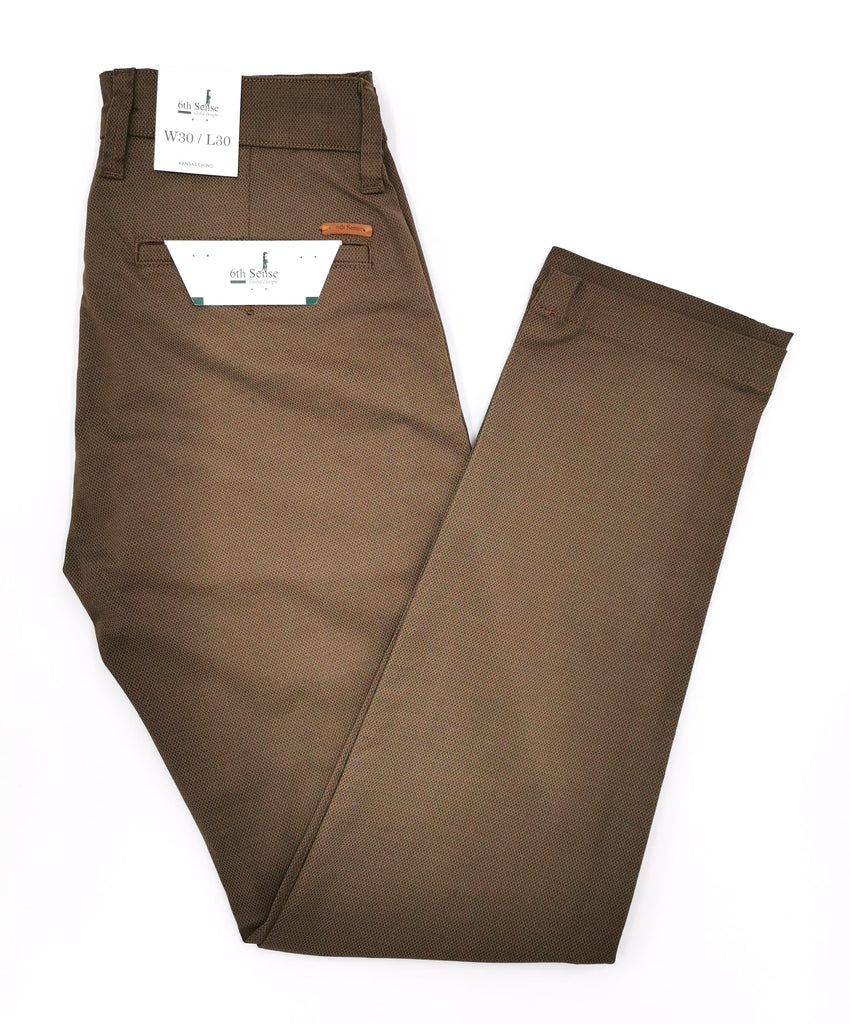 Kansas Beige Straight Leg Chino