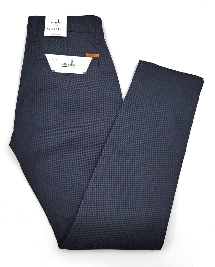Kansas Straight Leg Chino by 6th Sense navy
