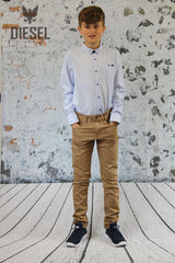 Kell Button Down Shirt by Diesel Youths sky