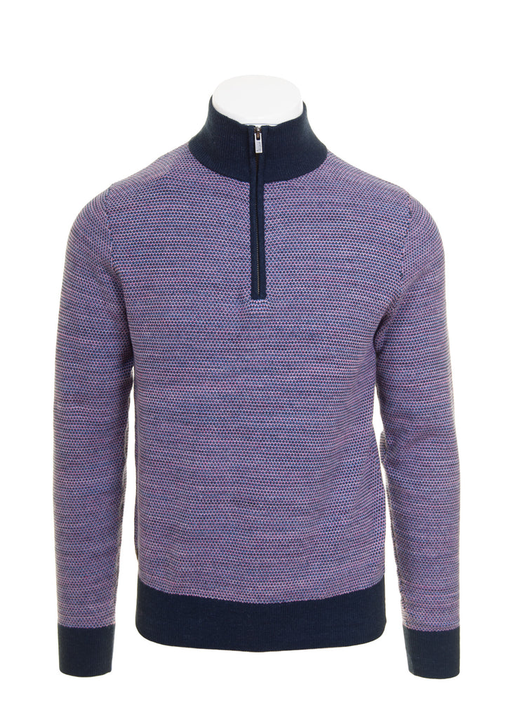 Rose Hyatt Half Zip Knit