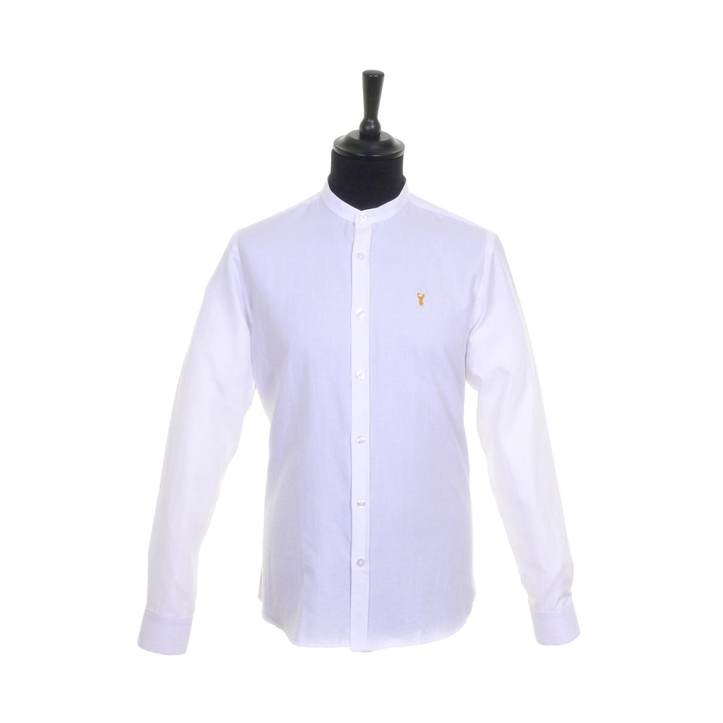 Grandad Collar Shirt by Tom Penn - Front