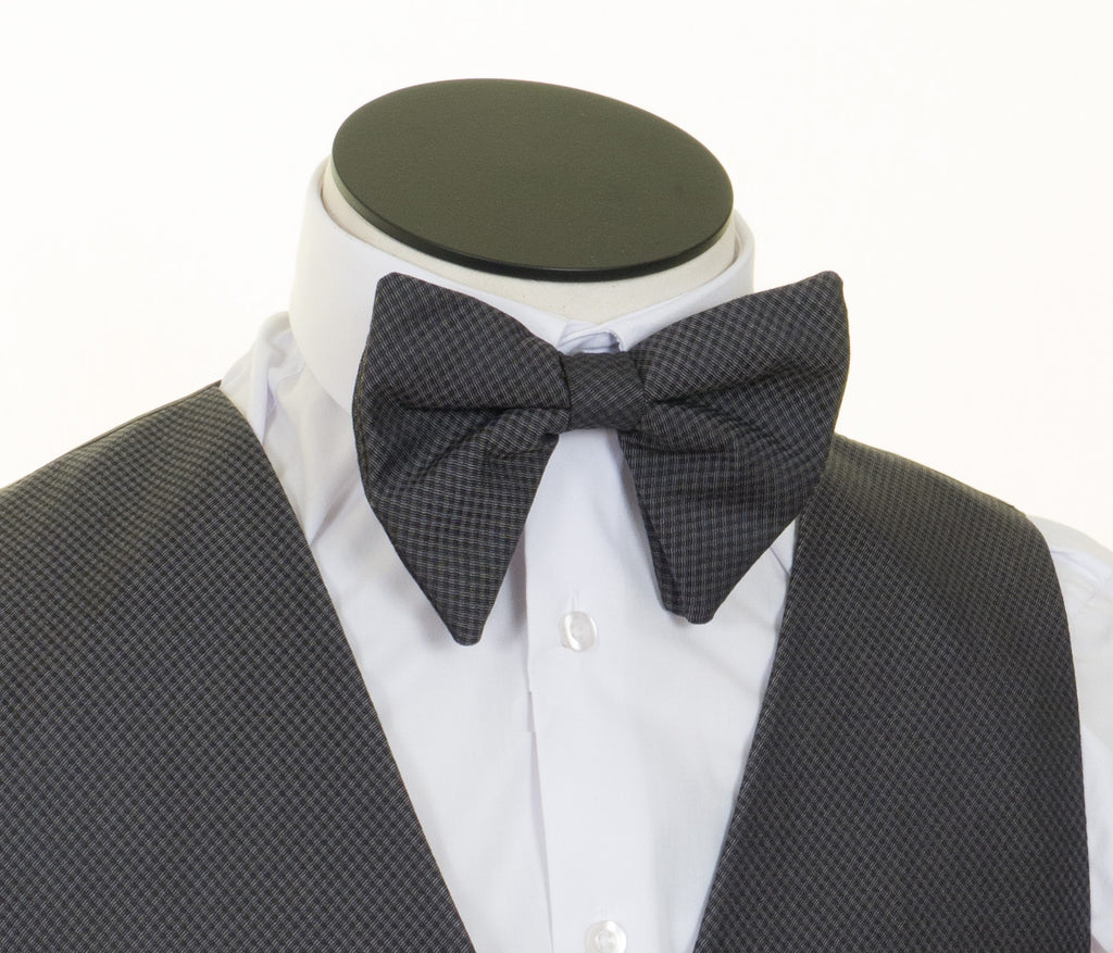 Large Bow Tie Grey