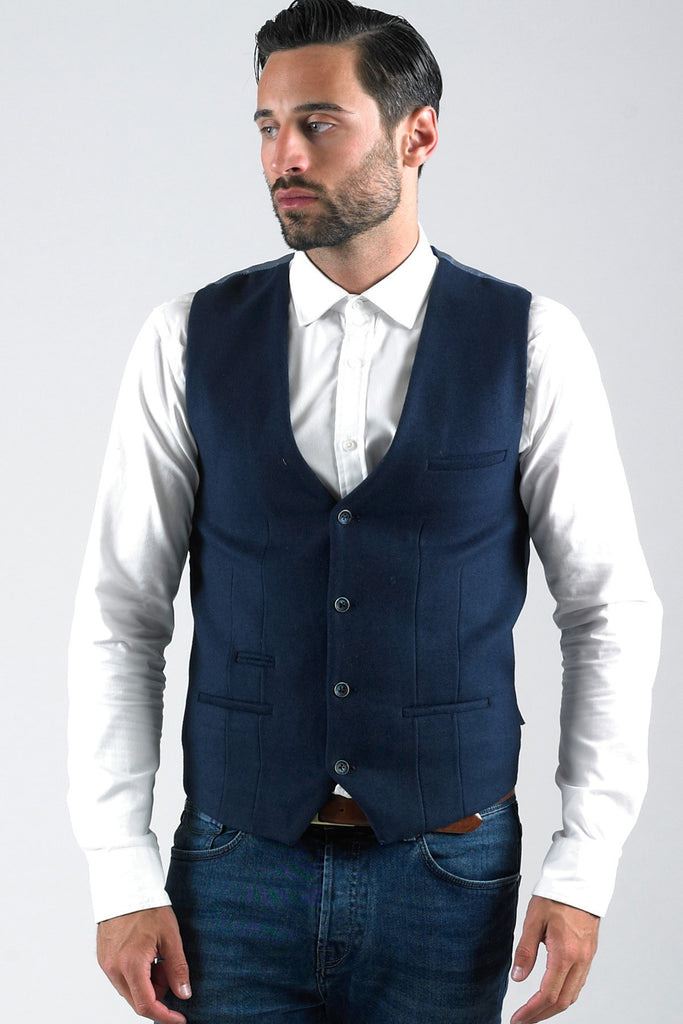 Lee  Melton Waistcoat By Marc Darcy