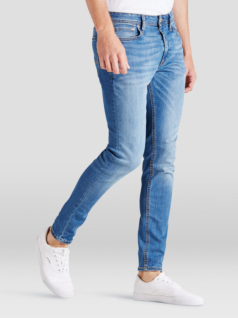Liam 015 Skinny Fit Light Blue Denims