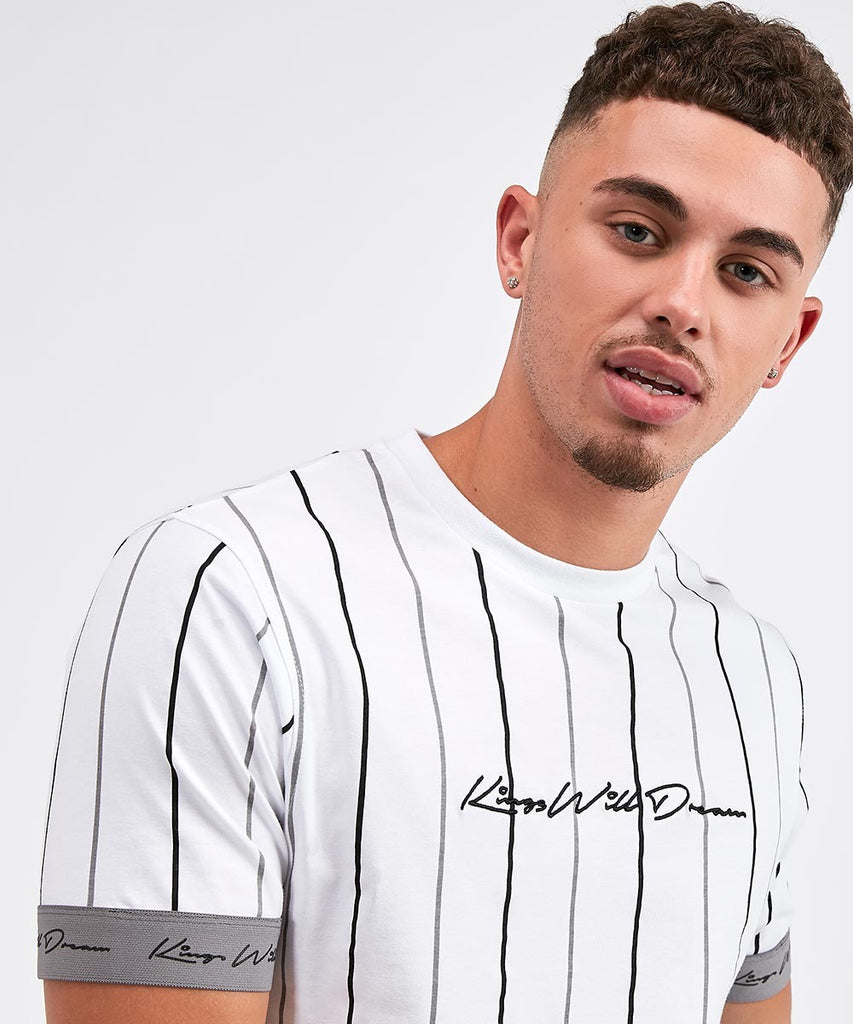 Lifton Tee Stripe White