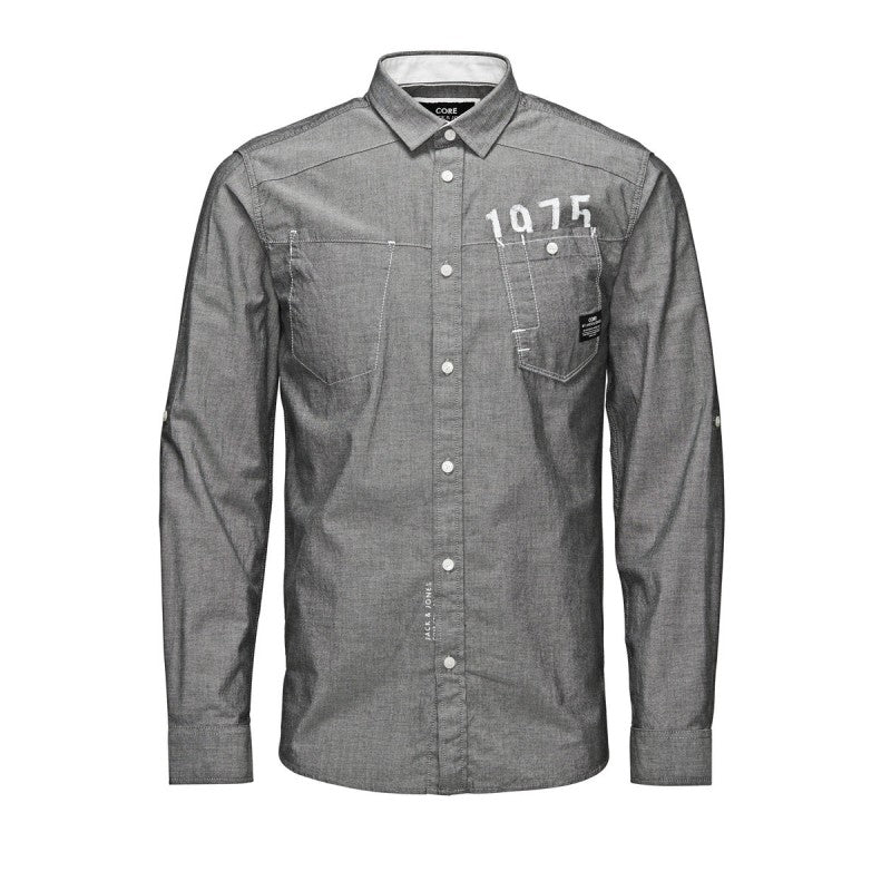 Liner Grey Shirt By Jack Jones Core