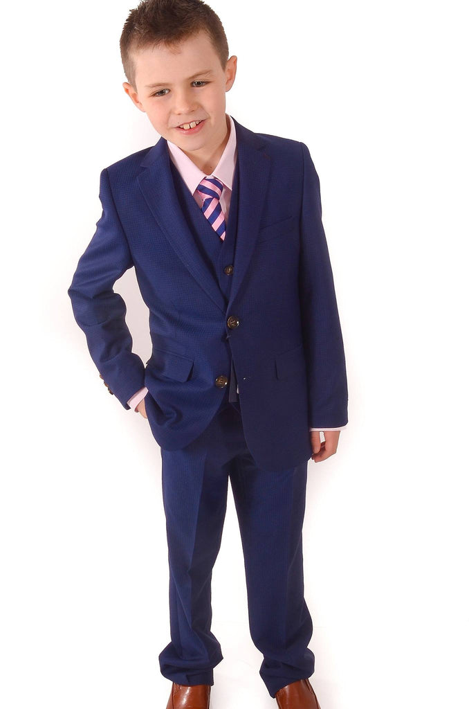 London 3 Piece Boys Suit By Benetti Boys