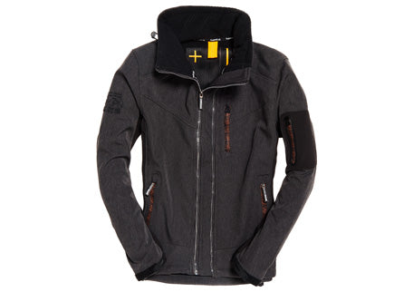 Superdry Paralex Black Marl Windtrekker