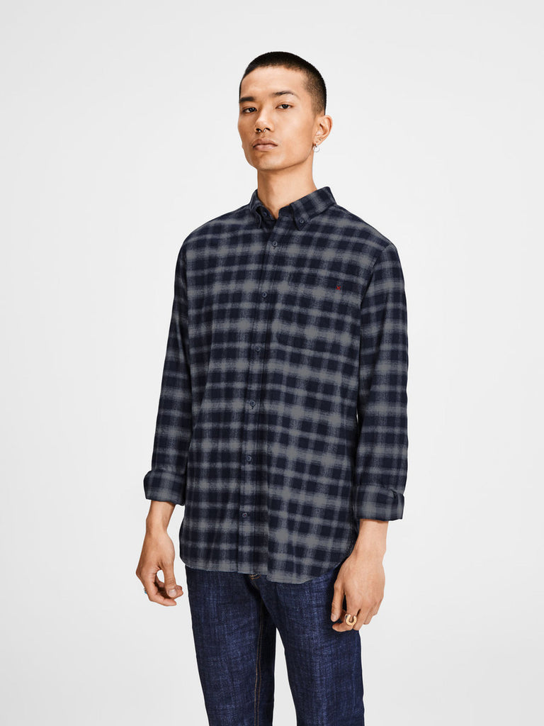 Mark Check Shirt By Jack Jones Premium