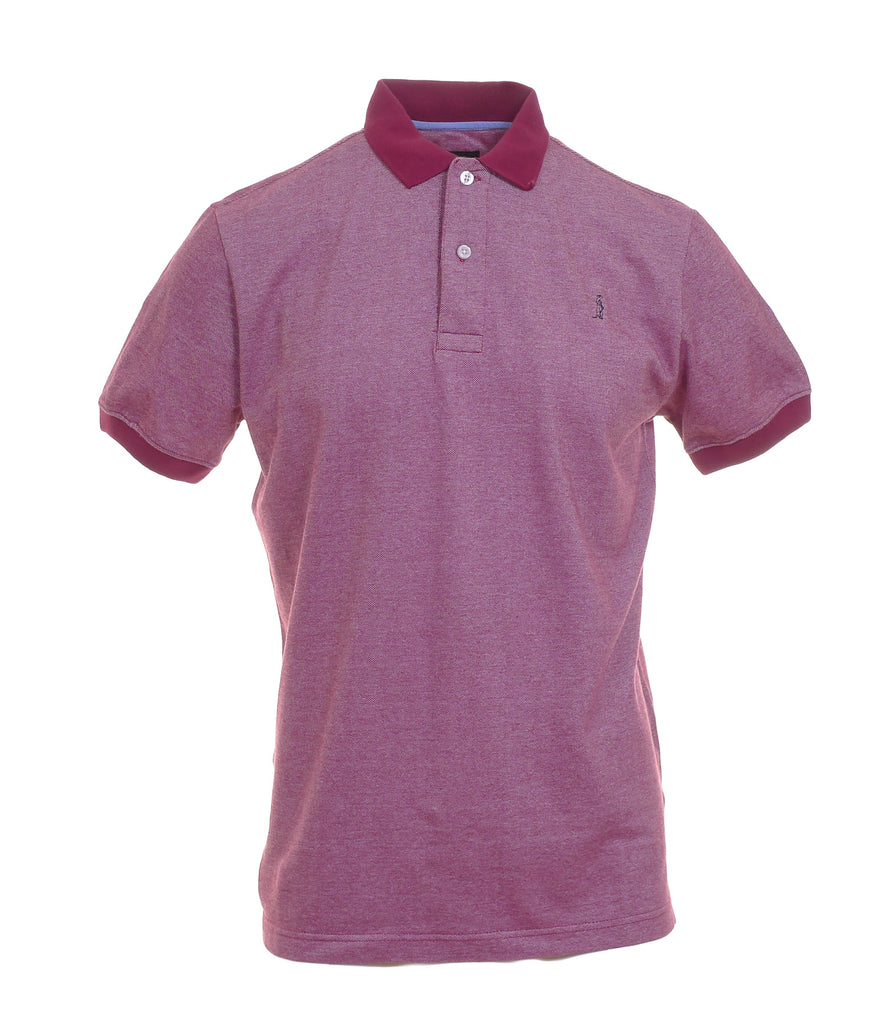 McGregor Plum Plain Polo