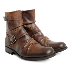 Metal Waxy Boot by Base London