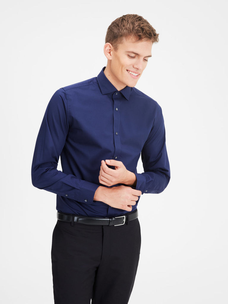Miller Spread Collar Shirt By Jack Jones Premium