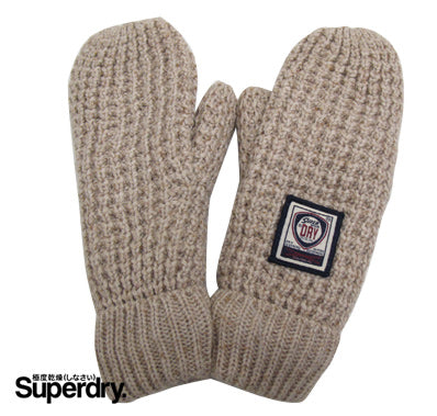 Superdry Womens Mittens