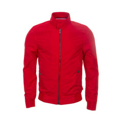 Montauk Red Harrington Jacket by Superdry