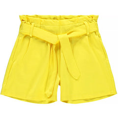 Falconi Ida Kid girl yellow Shorts  age 5 to 12 years by Name It.