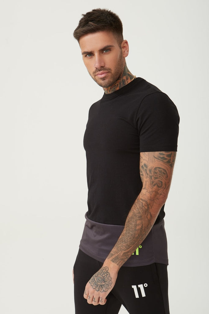 11D-3107 Neo Transition Black Tee.