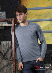 Nik Round Neck Jumper By Kingpin