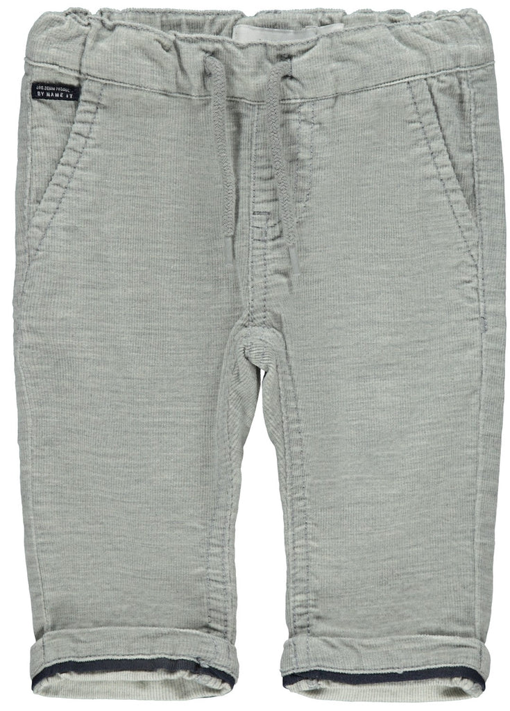 Robin Cordbaty Newborn Boys Grey Pants