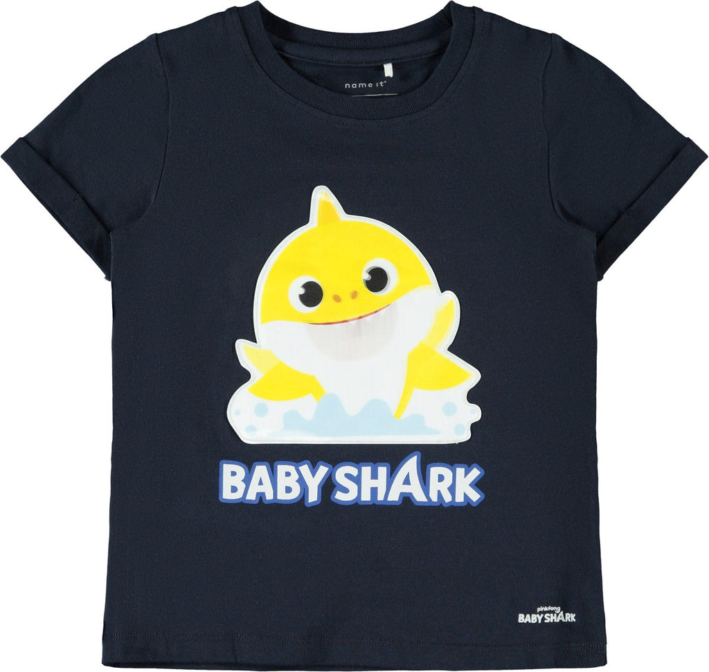 Babyshark Espen Short Sleeve Top