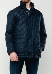 Vegas Water Repellent Navy Jacket by S4