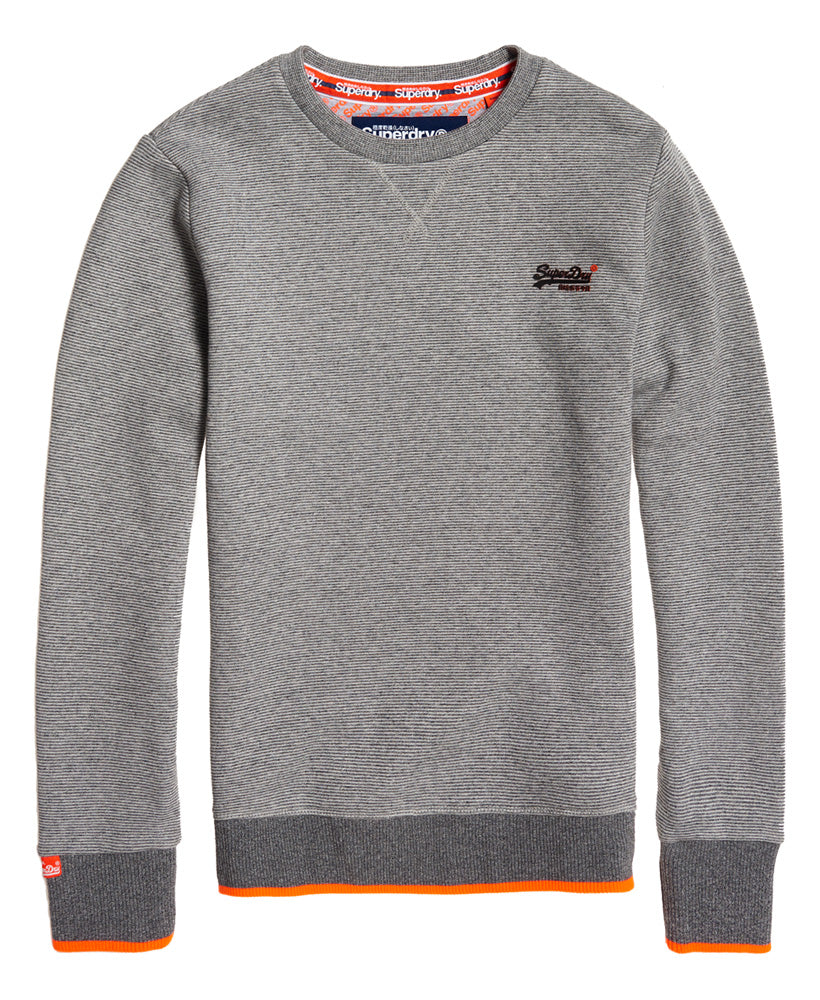 Orange Label Hyper Pop Crew Sweat Grey Feeder