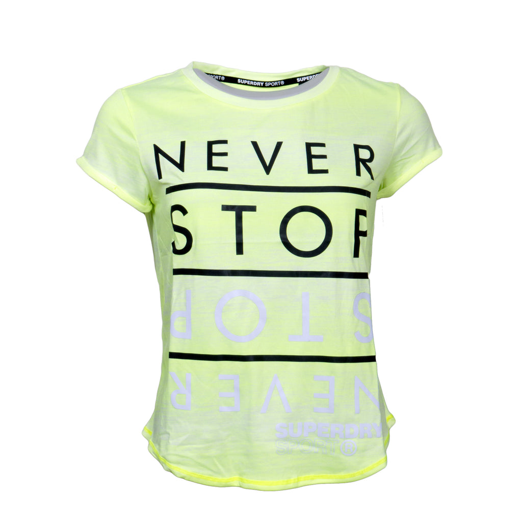 Sport Ombre Tee By Superdry Womens