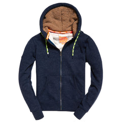 Men's Orange Label Mountain Deep Lake Zip Hoodie