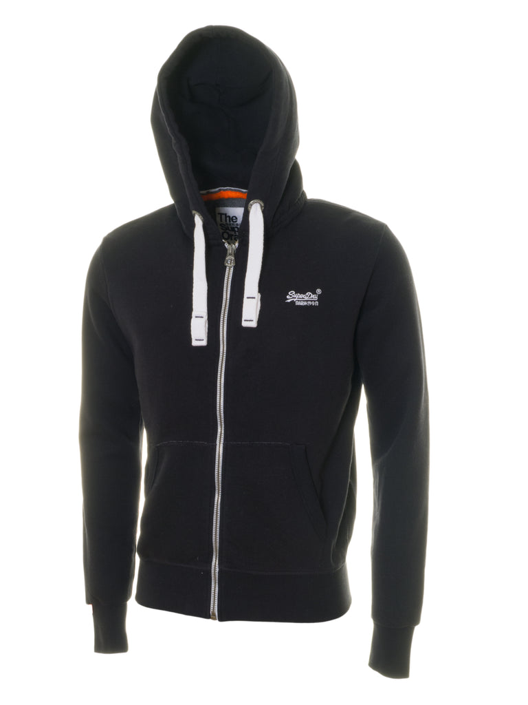 Orange Label Zip Eclipse Navy Hood By Superdry