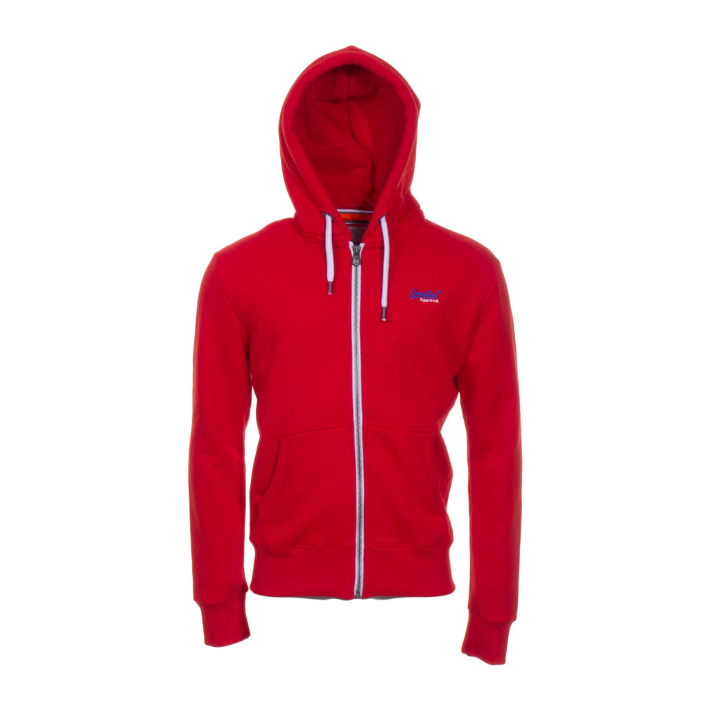 Orange Label Ziphood Yacht Club Red By Superdry