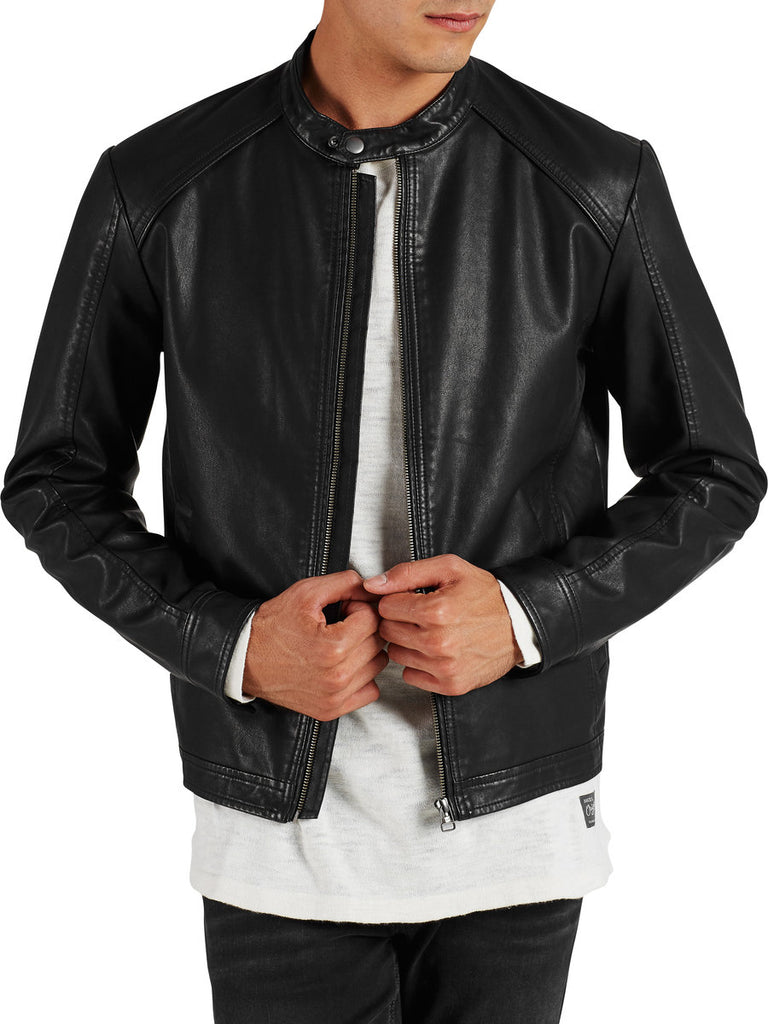 Biker Light Jacket By Jack Jones Originals