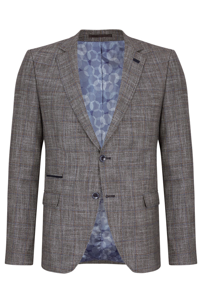Wallace Grey Men's Tailored Fit Blazer