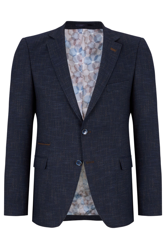 Bertha Navy Men's Tailored Fit Blazer
