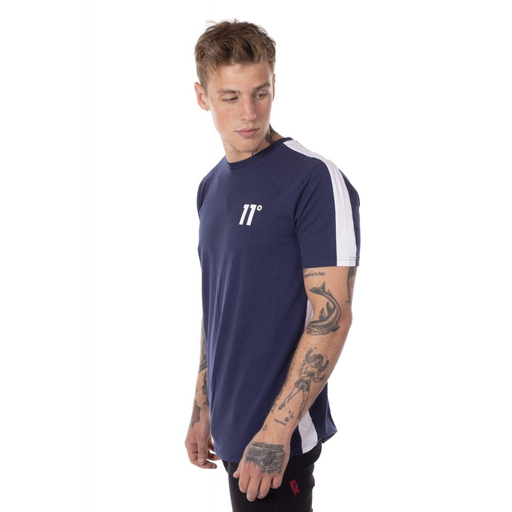 11 Degrees Panel T-Shirt Insignia.