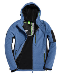 Hooded Paralex Blue Marl Windtrekker