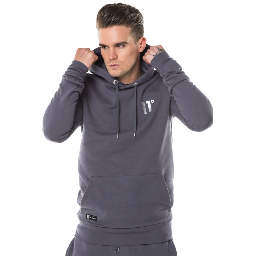Platinum Core Pullover Hoodie By 11 Degrees