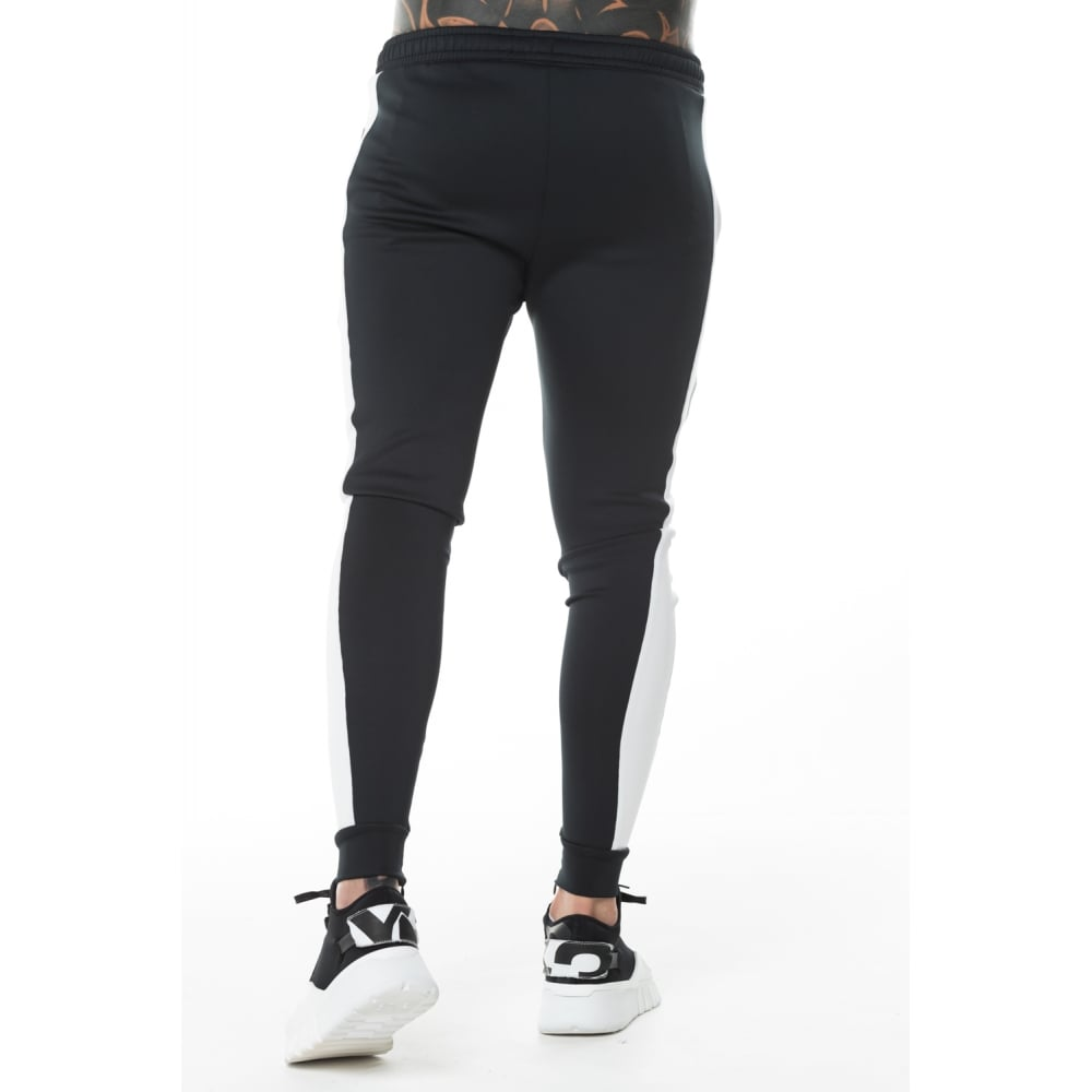 11 Degrees 11D-1999 Black Poly Track Pant