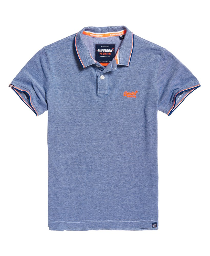 81e42c7790fb Classic Poolside Pique Polo Cobalt/White – Spirit Clothing