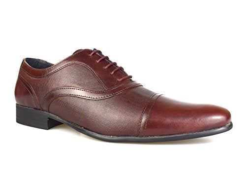 Potton Leather Brogue Shoe By Redtape