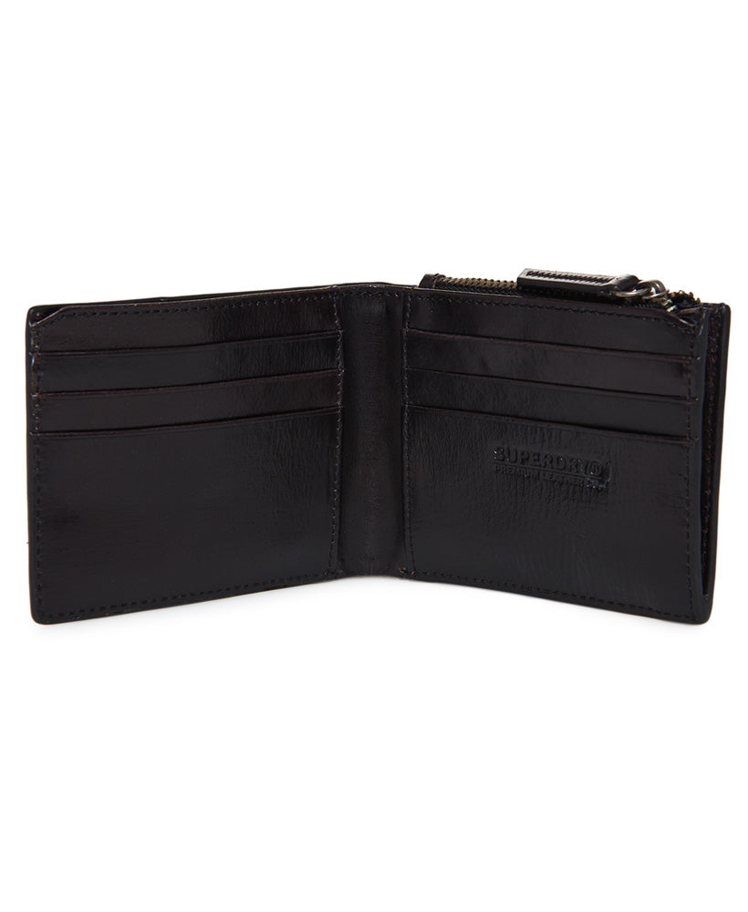 55cc1d615b27 Profile Leather Black Wallet in a Tin – Spirit Clothing