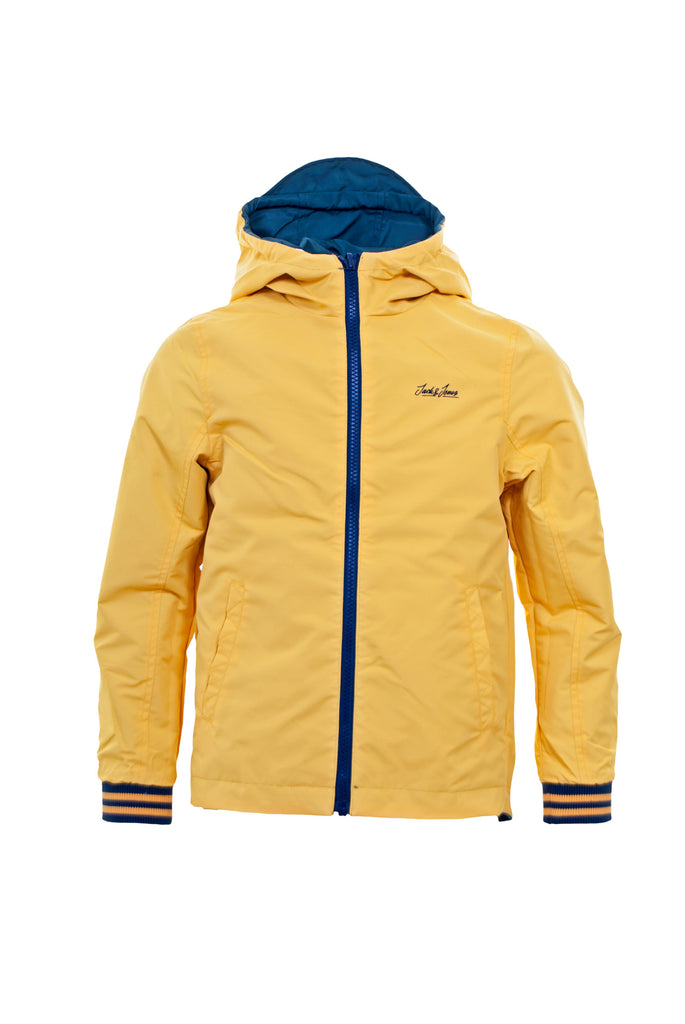 Link Reversible Junior Jacket - Yellow