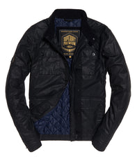 Rotor Black Jacket by Superdry