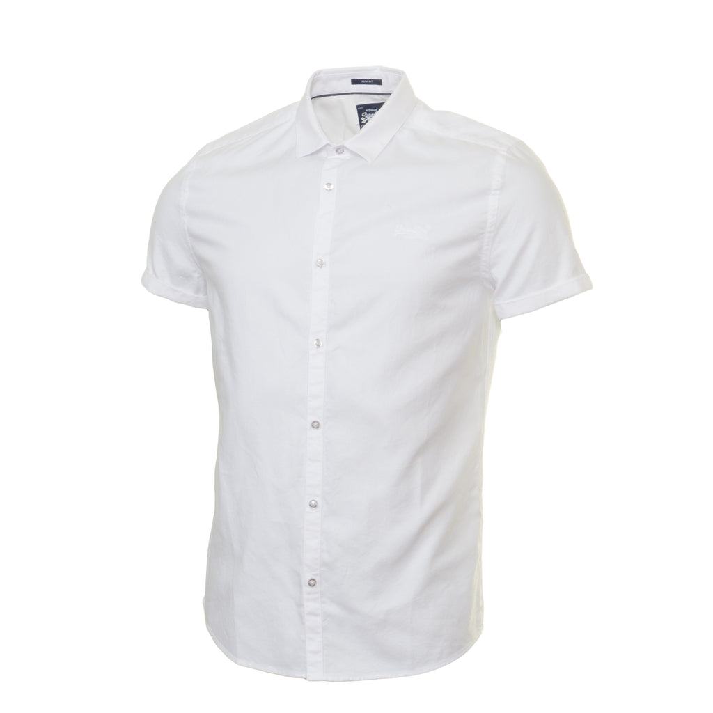 Royal Oxford Optic S/S Shirt by Superdry