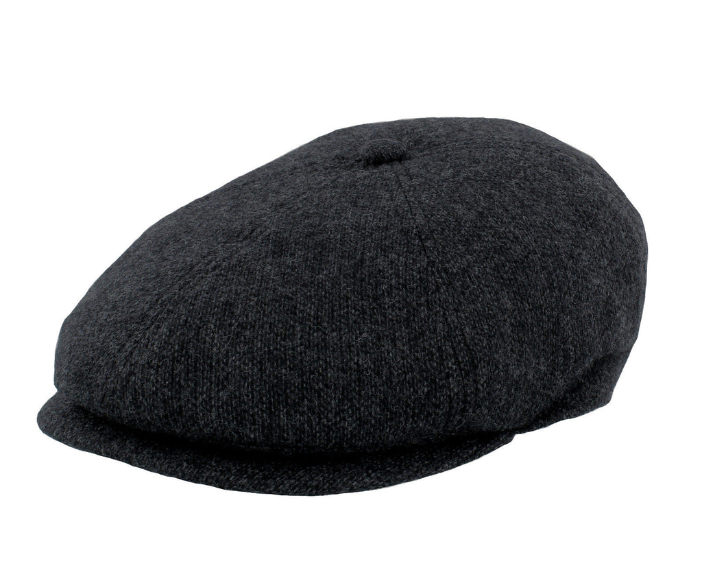 Failsworth Hudson 100% Merino Wool 6 Piece Grey Cap