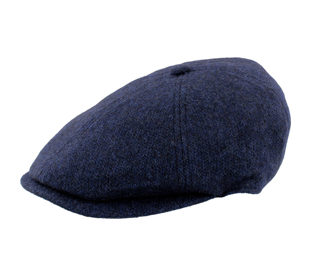 Failsworth Hudson 100% Merino Wool 6 Piece Blue Cap