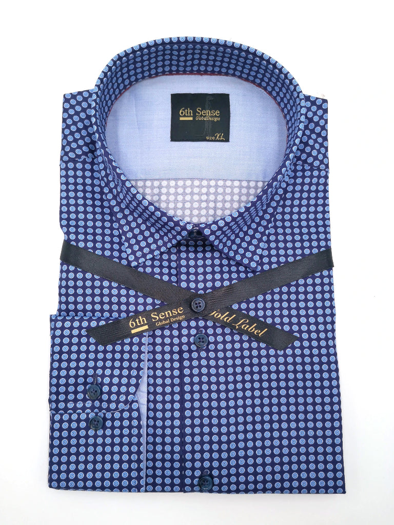 Single Collar-28 Print Shirt