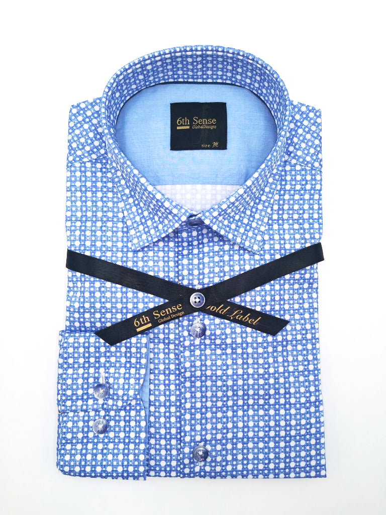 Single Collar-37 Print Shirt